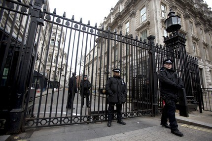 Downing Street main gates