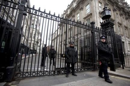 Downing Street main gates