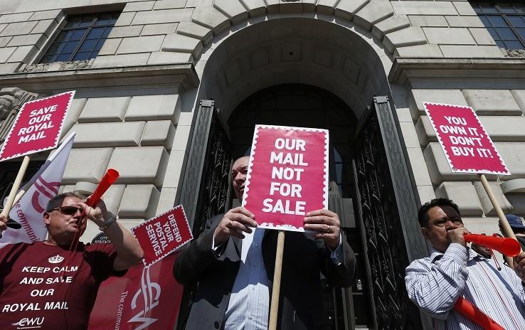 Royal Mail CWU strike