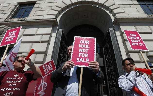 Royal Mail CWU strike