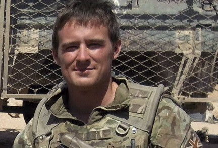 L/Cpl James Brynin joined the army in February 2011