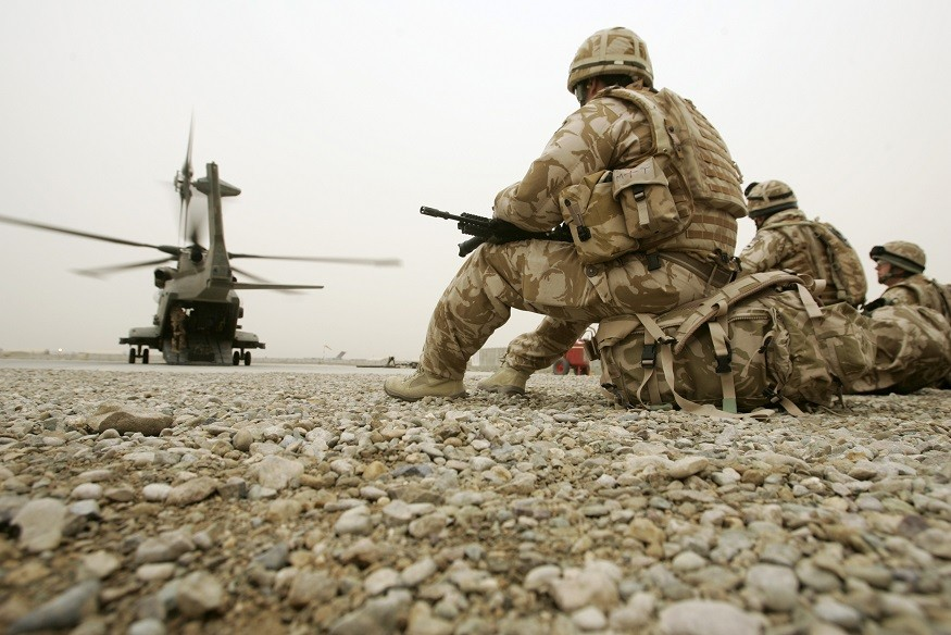 Temptation for some soldiers to boost physical fitness was too great PIC: Reuters