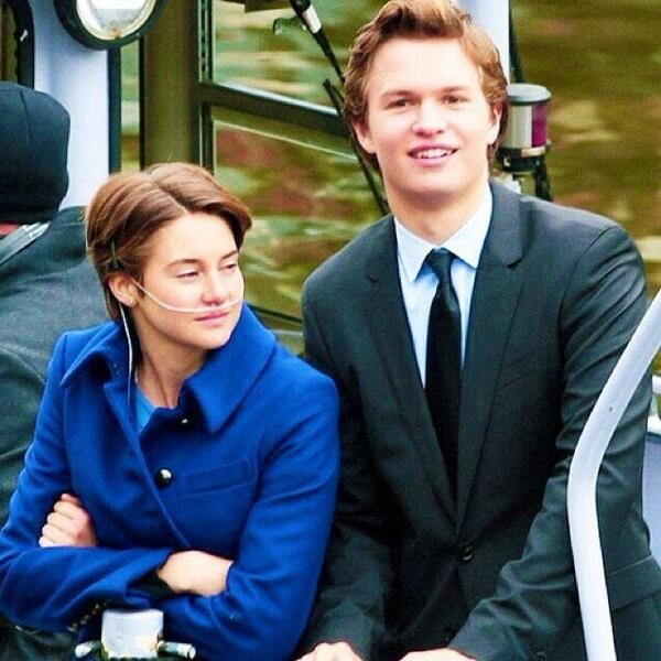 'The Fault in Our Stars' Shailene Woodley & Ansel Elgort Adorable Moments in Amsterdam