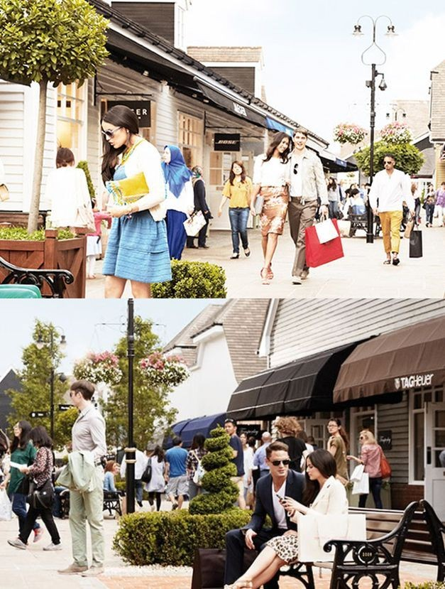 Bicester Village, where Kate Middleton loves to shop, houses boutiques of world's leading fashion and lifestyle brands that offer discounts, all year round. (Photo: © Bicester Village 2013)