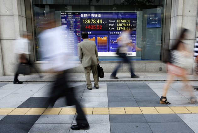 Asian markets log modest gains on 17 October