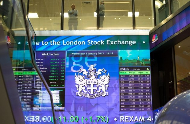 European markets trade lower on 17 October
