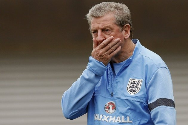 Roy Hodgson sorry for 'monkey' comment at Andros Townsend during England game PIC: Reuters
