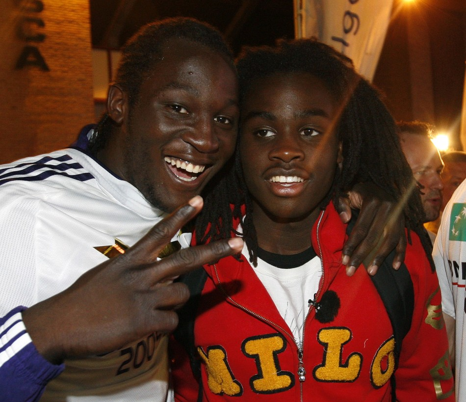 Romelu and Jordan Lukaku
