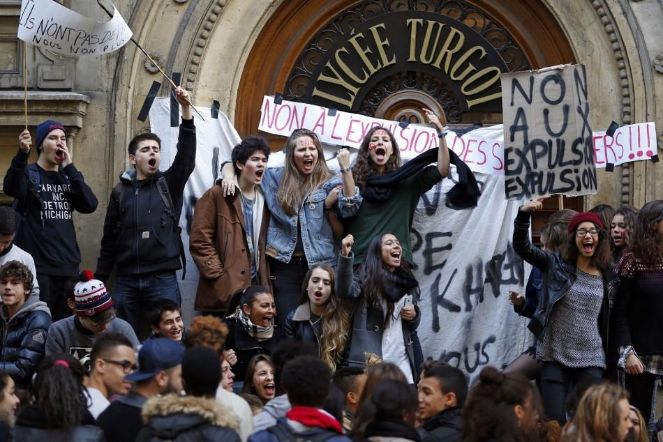 Paris Protest Leonarda