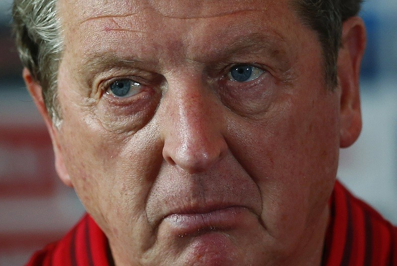 England manager Roy Hodgson under pressure from anti-racism group Kick It Out over 'monkey' remark to Andros Townsend PIC: Reuters