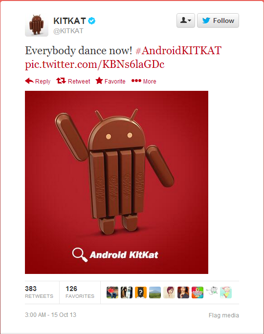 KitKat Tweets Hint at Nexus 5 and Android 4.4 Release Date [PHOTOS]