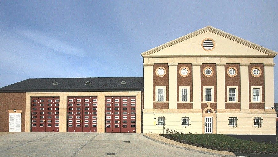 Poundbury fire station has been condemned by architecture critics