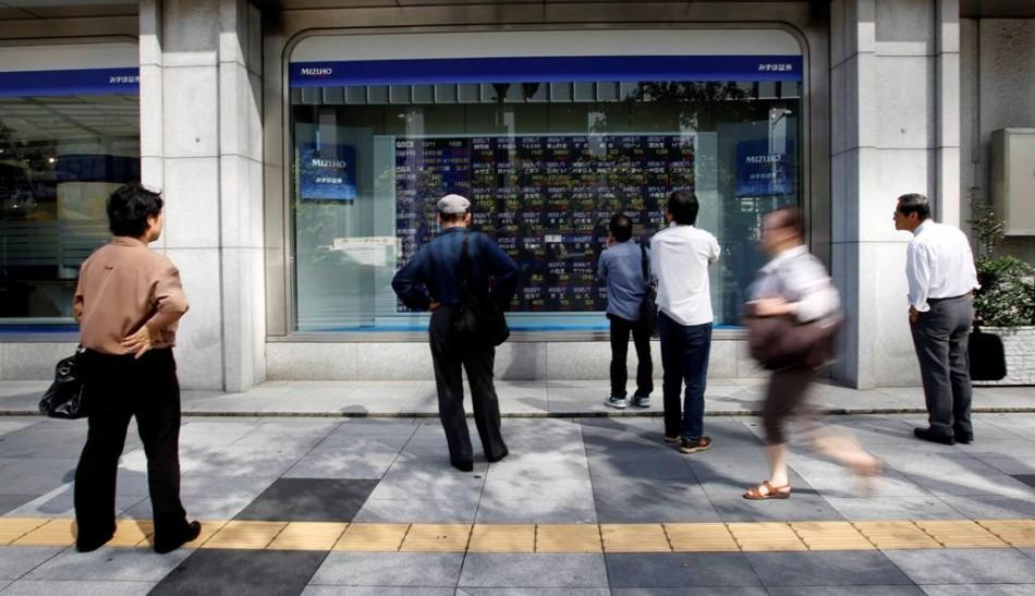 Asian markets outside Japan trade higher on 18 October