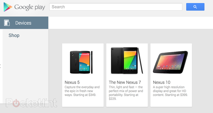Google Nexus 5 on Sale in Play Store