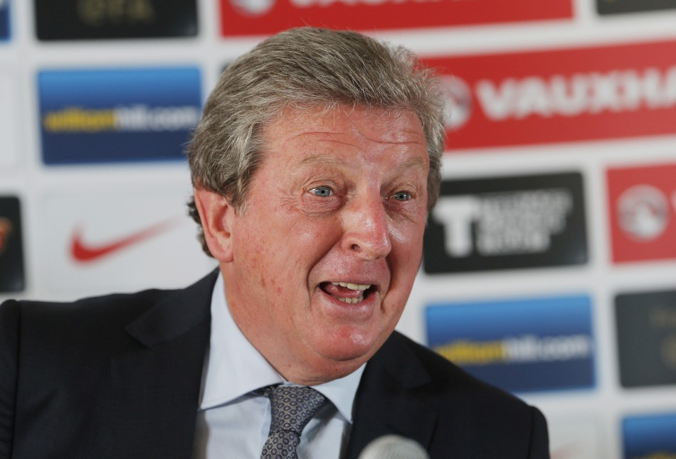 """Roy Hodgson looking to put """"monkey"""" remark row behind him PIC: Reuters"""
