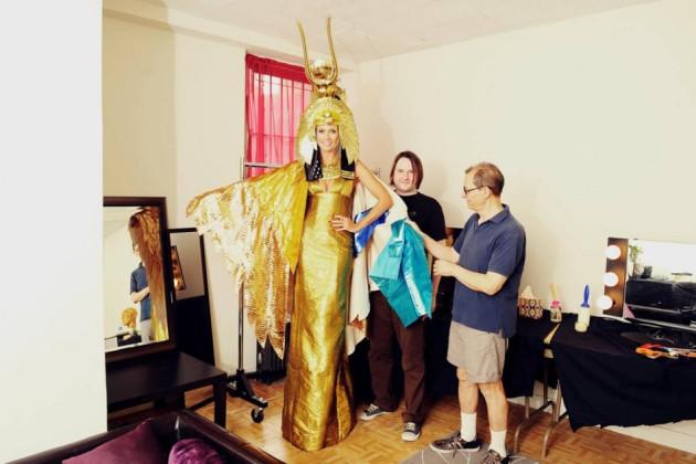 Klum on Halloween 2012/Facebook/HeidiKlum