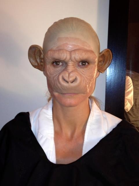 Heidi's 2011 Chimp Outfit [Facebook/HeidiKlum]
