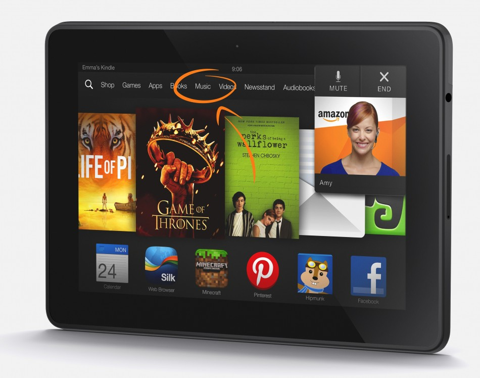 Amazon Kindle Fire HDX Up for Pre-Order in UK