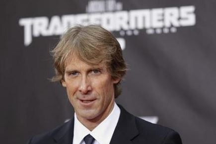 American film director Michael Bay was attacked in Hong Kong while filming on the set of his latest Transformers movie. (Reuters)