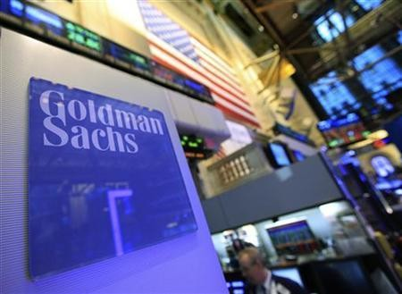 Goldman Sachs senior bankers reeled in an average £2.7m in 2012 (Photo: Reuters)