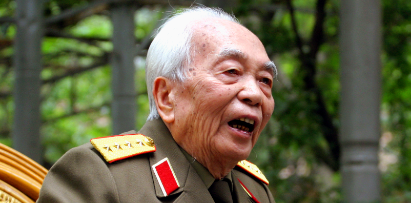 senior general vo nguyen giap essay A senior north vietnamese diplomat who engaged in secret negotiations in paris   viet minh general vo nguyen giap, however, had vietnamese peasants.