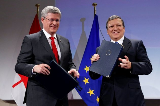 Eu Signs 26bn Free Trade Agreement With Canada