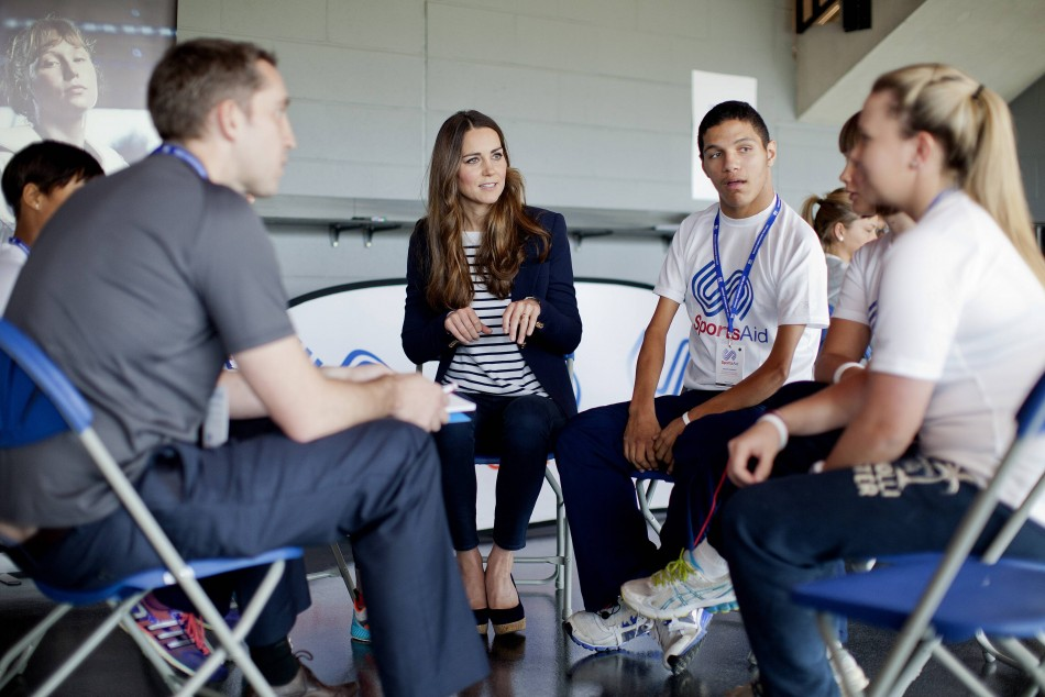 The Duchess of Cambridge is helping to shine a light on the achievements and potential of young athletes throughout the UK. (Photo:REUTERS)