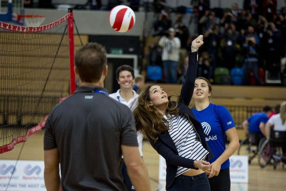 Kate has been a sport enthusiast since her school days. (Photo:REUTERS)
