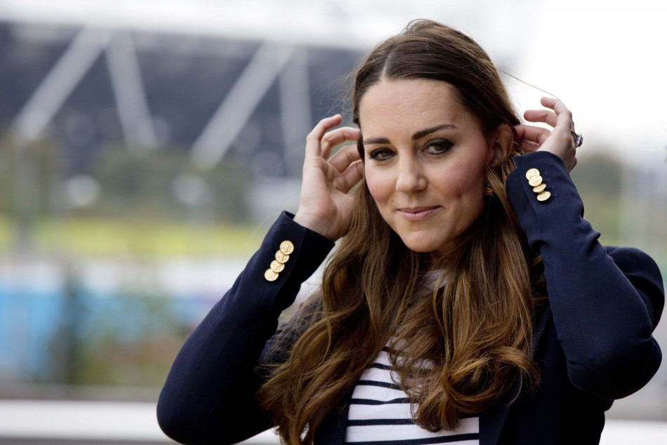 Kate opted for a sporty style statement for the event. (Photo:REUTERS)