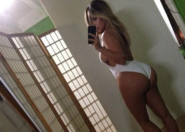 Kim Kardashian's Revealing Selfie (Instagram)