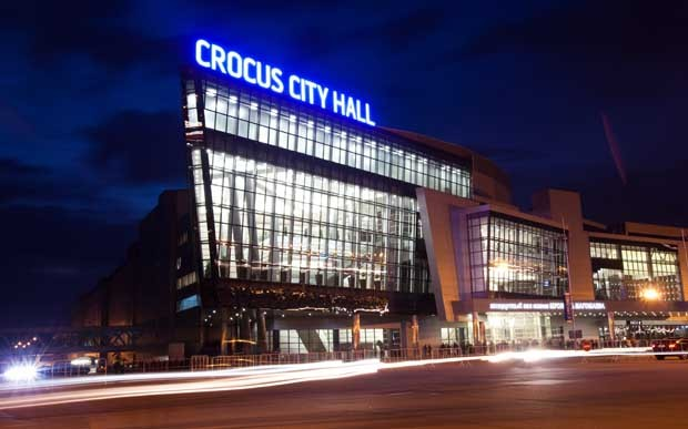 Moscow's Crocus City Hall, where Miss Universe Finals will take place. (PHOTO: Miss Universe Organization L.P., LLLP)