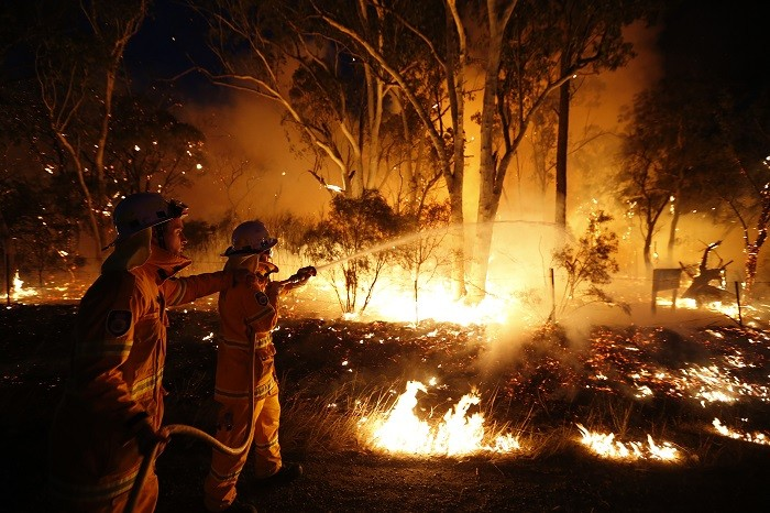 The massive fire has destroyed more than 30,000 hectares including 200 homes (Reuters)