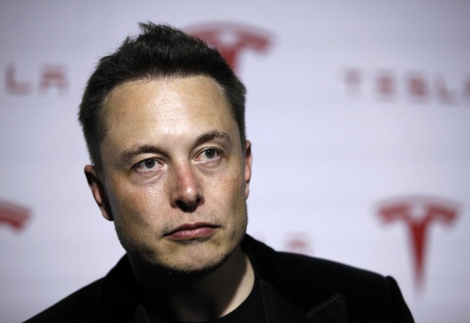 Tesla Motors chief executive Elon Musk