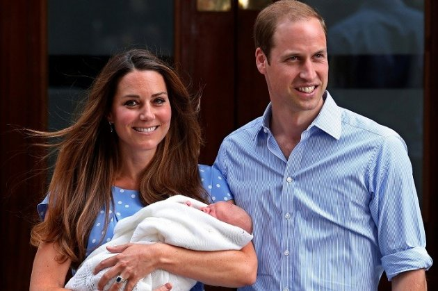 Kate Middleton and Prince William hold a tea party for baby George (Reuters)