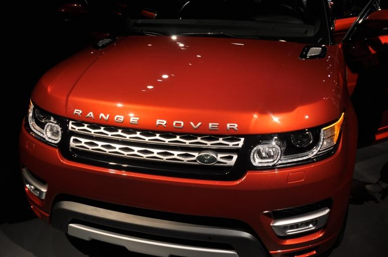 Jaguar Land Rover Ltd. unveiled the 2014 Range Rover Sport at the 2013 New York Auto Show.