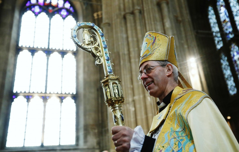 Archbishop of Canterbury Justin Welby admits the CoE still owns an £80,000 stake in Wonga (Photo: Reuters)