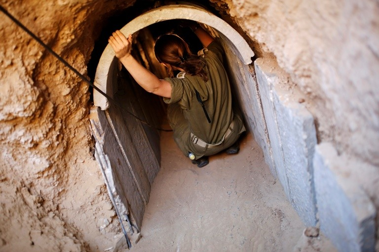 Israel discovers Hamas tunnel