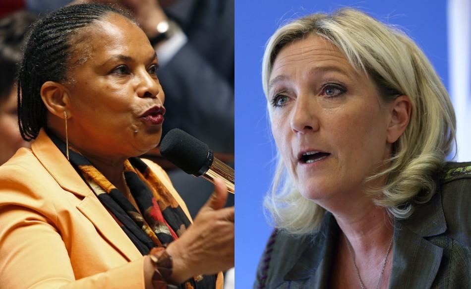Taubira Le Pen racism
