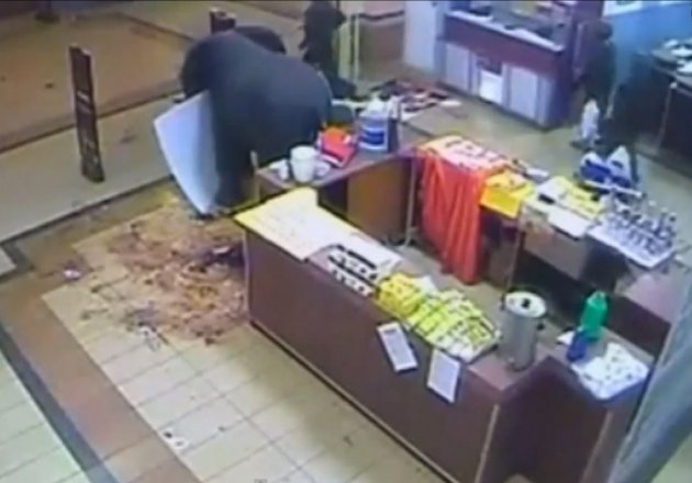 Kenya westgate looting