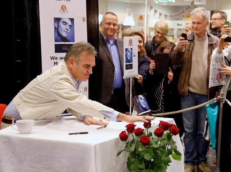 Morrissey launches his memoir