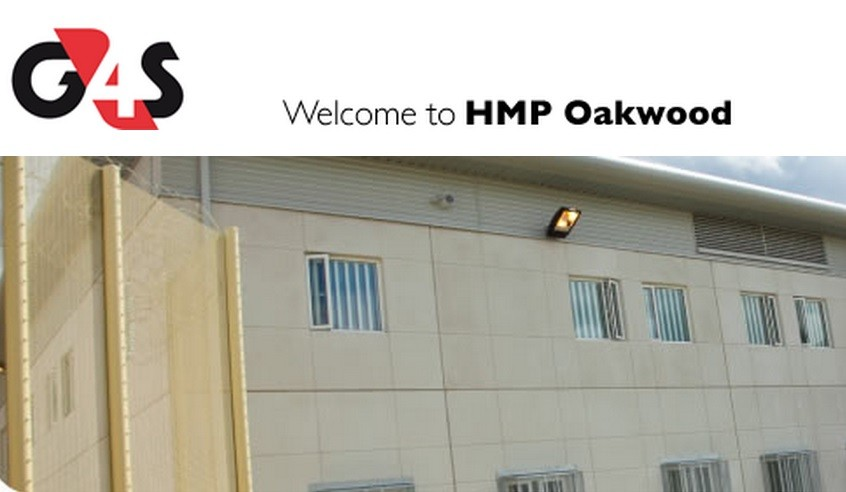 HMP Oakwood is run by G4S and allegedly has a major pigeon problem PIC: HMP Oakwood