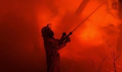 Australia fire-fighters