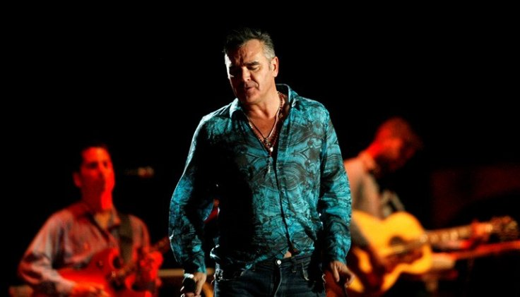 Morrissey in performance