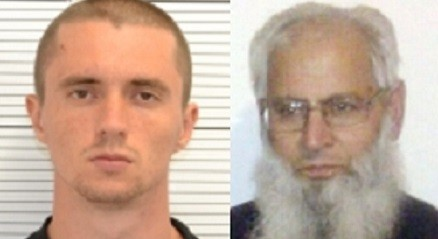 "Pavlo Lapshyn (L) killed Mohammed Saleem  as part of his plan to to ""increase racial conflict"" in the area (West Midlands Police)"