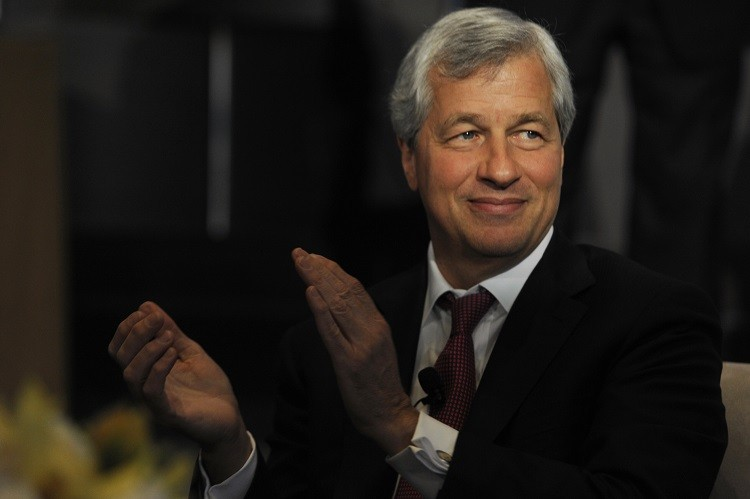 """JPMorgan's Jamie Dimon said """"I am so damn proud of this company. That's what I think about when I wake up everyday."""" (Photo: Reuters)"""