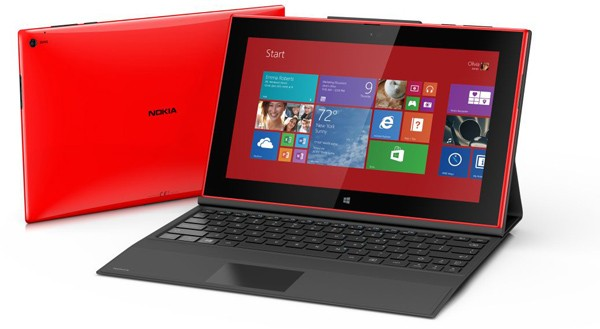 Nokia Lumia 2520 with Nokia Power Keyboard cover