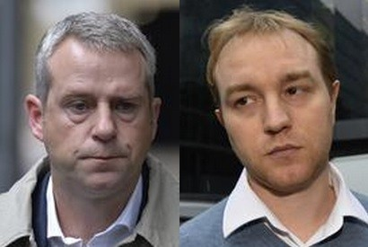 Former RP Martin broker James Gilmour (L) and former UBS and Citi trader Tom Hayes have both been charged by the SFO for Libor rigging allegations (Photo: Reuters)