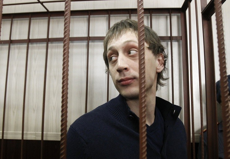 Bolshoi ballet dancer Pavel Dmitrichenko denied involvement in acid attack on Sergei Filin PIC: Reuters