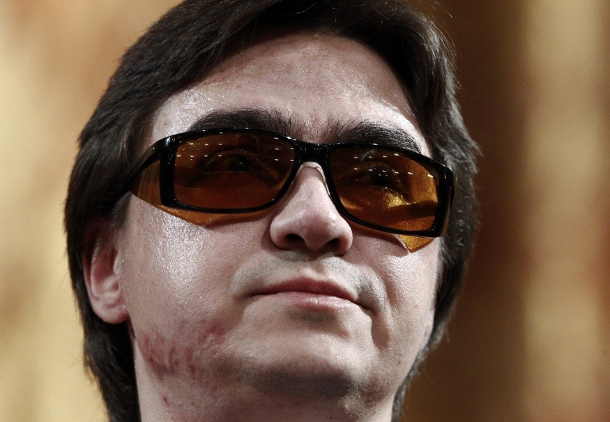 Bolshoi Ballet artistic director Sergei Filin suffered disfigurement in the attack PIC: Reuters