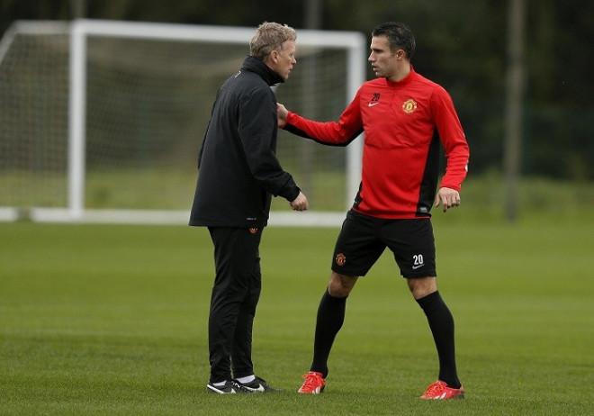 Moyes Van Persie Manchester United